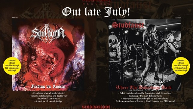 PRE-ORDERS: SOULBURN and STUDFAUST!