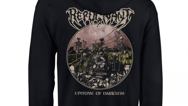 """Pre-order: Repugnant """"Epitome of darkness"""" Hooded Zipper + T-shirt"""